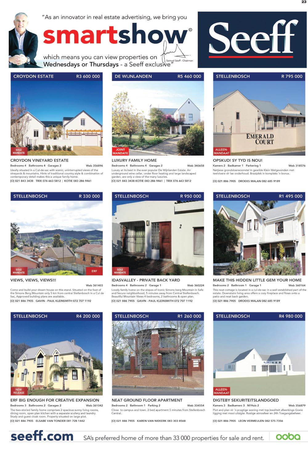 You are browsing images from the article: Property Selection-August 26 2015
