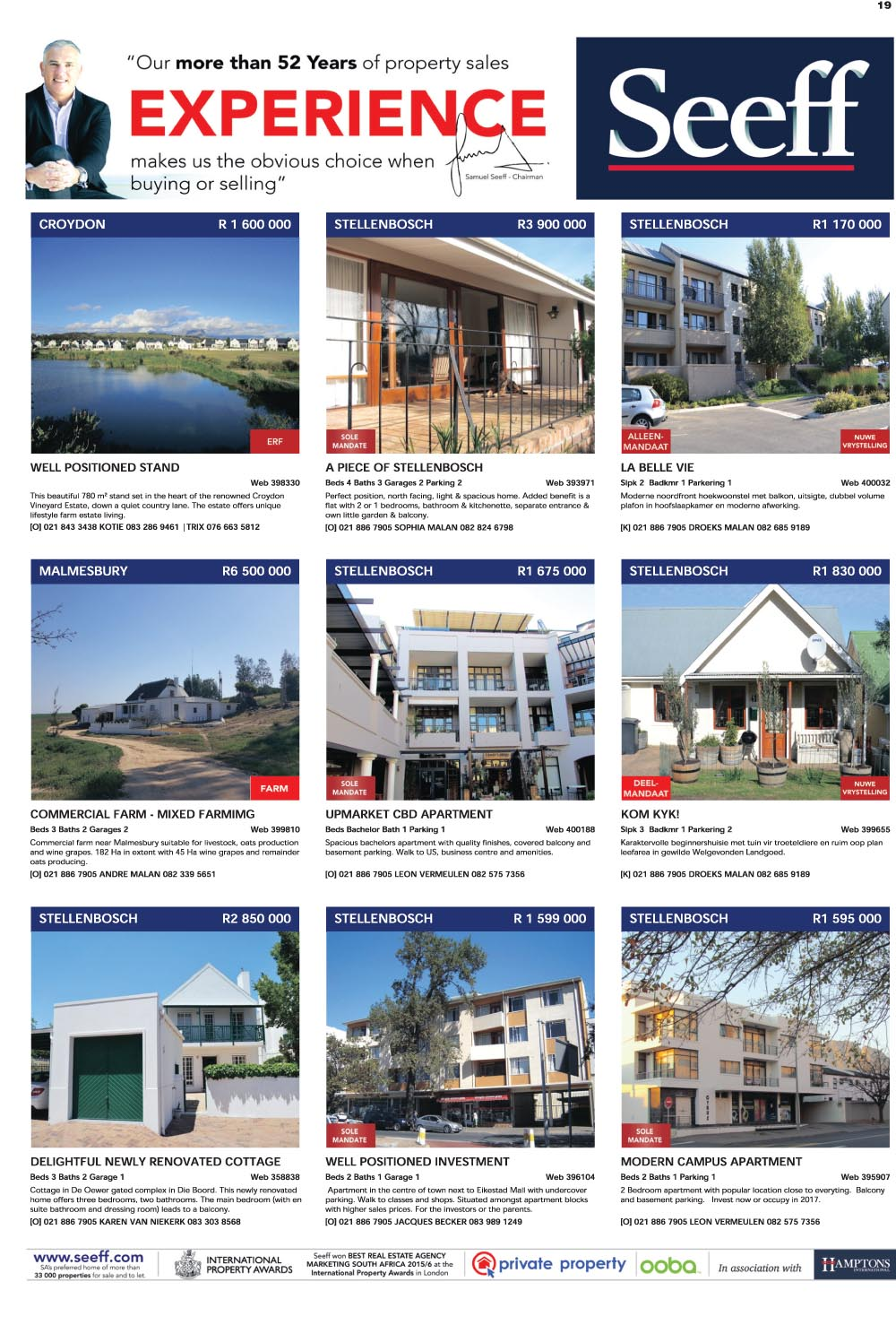 You are browsing images from the article: Property Selection 24th August 2016