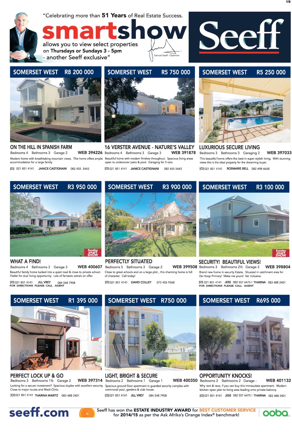 You are browsing images from the article: Property Selection 31st August 2016
