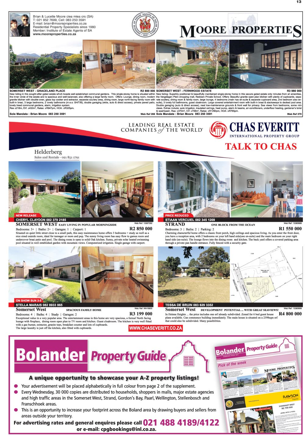 You are browsing images from the article: Property Selection 21st September 2016